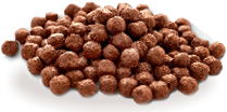 Cereal ball com chocolate